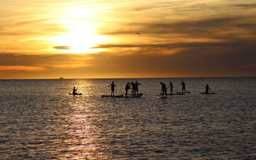 El Sunset en Ibiza