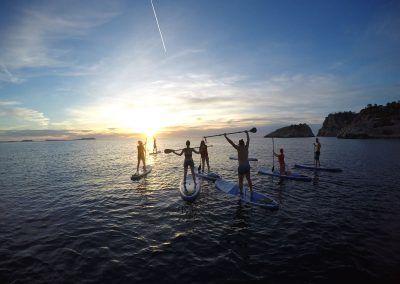 paddle board guide tour ibiza