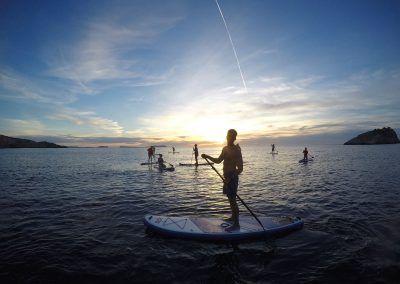paddle surf sunset en ibiza